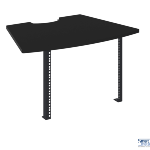 19 inch rack, 7HE inclusief steun t.b.v. Smartmetals VideoConferencing